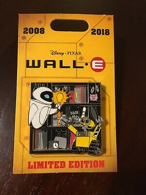 Disney PIXAR Wall-E 10th Anniversary Pin LE 2000 WALLE EVE Light Bulb