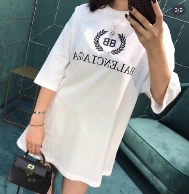 NEW Balenciaga T shirt tee shirt Street Wear Mens Women Unisex T-shirts Top