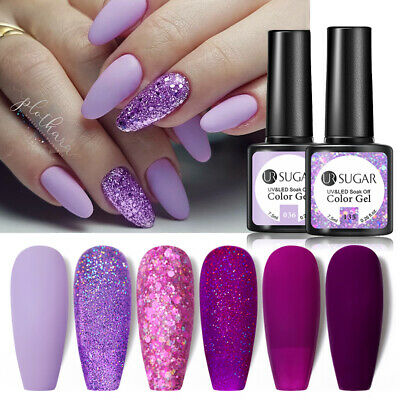 UR SUGAR 7.5ml Matte Nail UV Gel Polish Soak off Gel Nail Polish Top Coat Gel