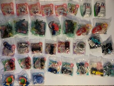 McDonald's Hot Wheels, Micromachines, Transformers Toy Lot