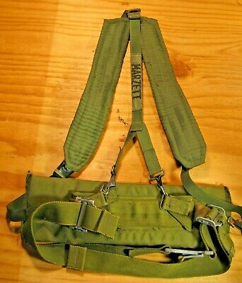 ALICE LC-2 Y-HARNESS Y Suspenders US Military OD Green EUC Individual Equipment