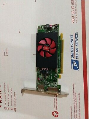 Dell AMD Radeon Model C553 Graphics Card 1GB RAM Low Profile 0F9P1R V309