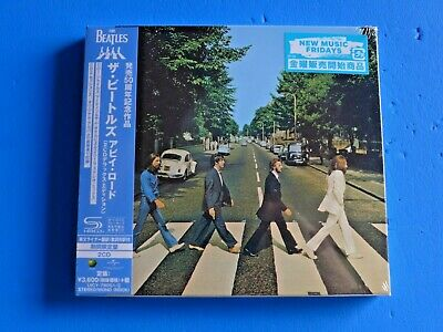 2019 Japan 50 Anniversary Deluxe Edition Beatles Abbey Road 2 Shm Cd Digi Sleeve
