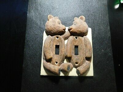 Brown Bears Light Switch Plate Cover!   Ff520Xcx