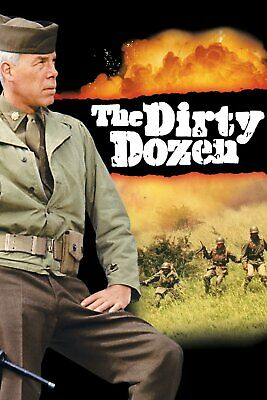 The Dirty Dozen 16mm Feature Film 1967 Lee Marvin Charles Bronson