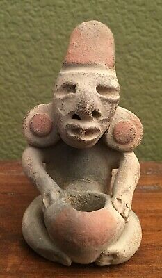 Rare Pre-columbian Clay whistle, Michoacan, Mexico