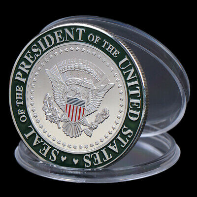 US 45th President Donald Trump Commemorative Coin Collection Gifts Souvenir HU
