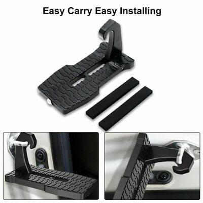 Portable Car Latch Door Jeep Ladder for Step SUV Truck Folding Foot Pedal Hook