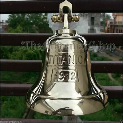 Solid Anchor Ship Bell Titanic Bell 1912 London Hanging Bell Nautical Wall Decor