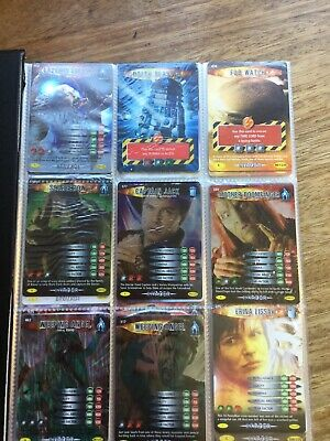 Dr Who Battles In Time Folder And 75 Cards
