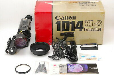 【RARE MINT+++ in BOX】CANON 1014 XL-S Super 8 8mm Movie Camera From JAPAN 1276