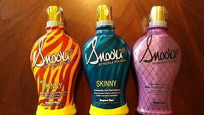 Supre Snooki 3-Pack Tanning Bed Lotions