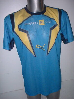 Renault Formula One Team Official Puma Adult Medium F1 Top Shirt Jersey Leisure