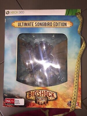 Bioshock Ultimate Songbird Infinite Figure + Strategy Guide No Game Xbox360 Xbox