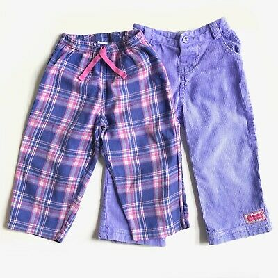2 x JoJo Maman Bébé Girls Trousers - Size 2-3 Years
