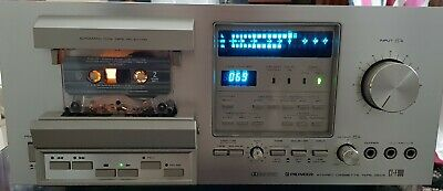 Pioneer CT-F900 Cassette Tape Deck  - WORKING - More pics to come-