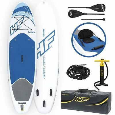 Bestway Hydro Force Inflatable 10 Foot Oceana SUP Stand Up Lake Paddle Board