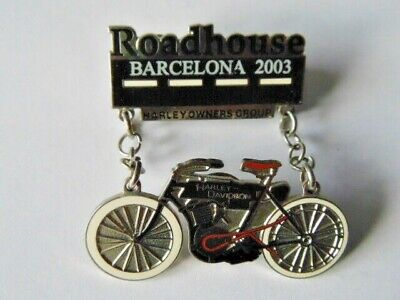 Harley-Davidson Pins Collector Hd Hog Roadhouse Barcelona 2003
