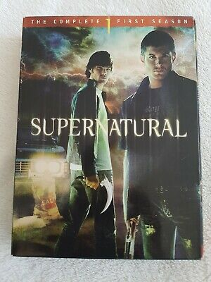 Supernatural TV Show 3 DVD Box Set Including Complete Season 1,2 and 3.