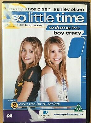 So Little Tiempo Vol.2 DVD Mary-Kate & Ashley Olsen Gemelos Niña Teen TV Series