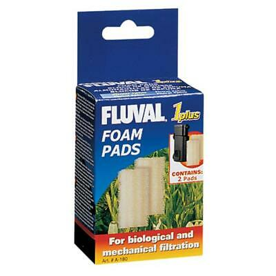 Fluval 1 PLUS Foam Insert x2 Fish Tank Aquarium *GENUINE FLUVAL MEDIA*