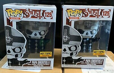 Ghost Band Papa Emeritus II Funko Pop Vinyl Figure. Hot Topic Exclusive. New