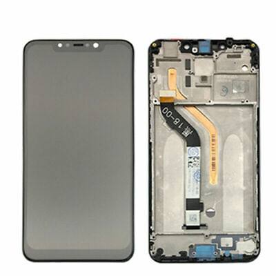New LCD Display Touch Screen Digitizer + Frame Assembly For Xiaomi Pocophone F1