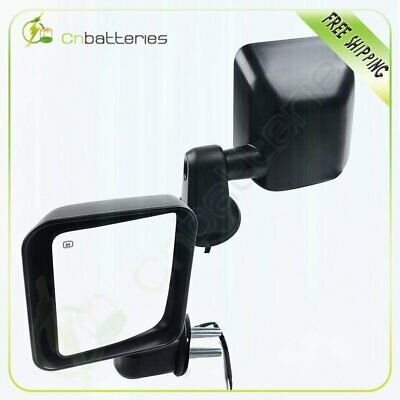 Power Heated For 2011-13 Jeep wrangler Side Mirrors Turn Signal Clearance Light