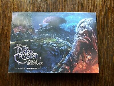 The Dark Crystal Age Of Resistance - BFI Exhibition Promo Map Guide Card Netflix