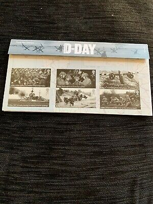GB 2019 D-Day 75th Anniversary Normandy Landings u/m mnh stamp presentation pack