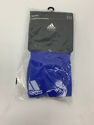 Adidas Football Team Sock MilanoSock Milano Blue Sz UK 8.5 - 10 EUR 37-39 Size 4