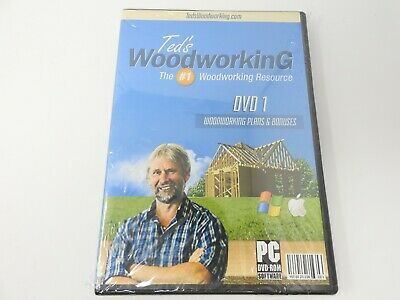 Ted's Woodworking: DVD 1 Woodworking Plans & Bonuses (PC DVD-ROM)