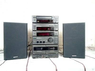 Sony Mini Hi-Fi System Good Condition Refurbished Tape New Belts Clean Loud