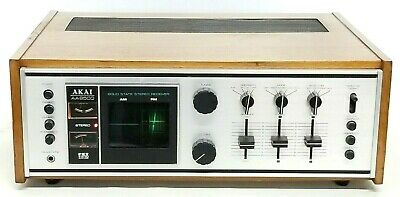 Vintage AKAI AA-8500 Solid State Stereo Receiver Tested & Working