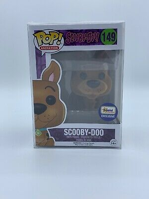 Funko Pop! Scooby-Doo! Flocked Gemini Exclusive #149 w/Pop protector