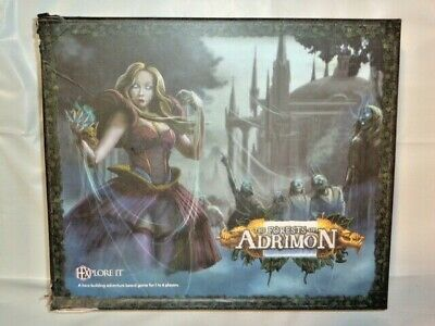 The Forests of Adrimon Hero Building Adventure Board Game New - see pics