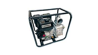 "Cormac WB40T, NEW Heavy Duty 4"" x 4"" TRASH PUMP, gasoline engine 13 Hp,"