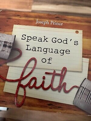 Joseph Prince Speak God's Language Of Faith 4 CDs SET