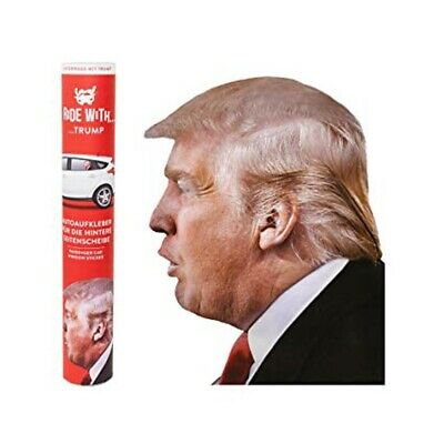 Ride With Donald Trump Car Sticker President United States of America Truck Gift