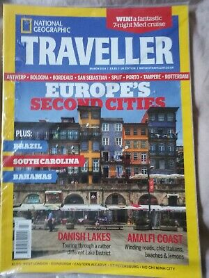 National Geographic Traveller Magazine *new* Mar 2014 Issue. Europe's 2nd Cities