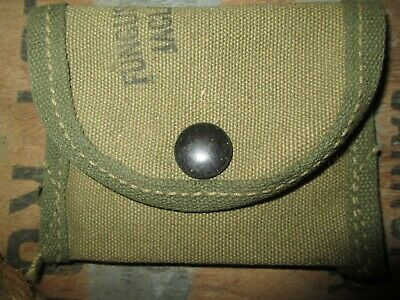 WWII WW2 SMALL PARTS POUCH US ARMY USMC ORIGINAL m1 GARAND CARBINE m1911 1903