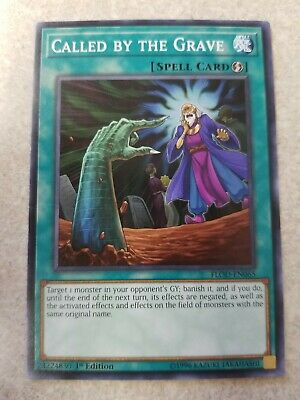 Yugioh Called By The Grave 1st FLOD Common
