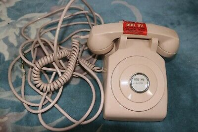 Vintage Western Electric Bell System 1970s Desktop Extension Line Type Telephone