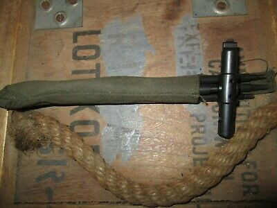 WWII WW2 M1 Garand CLEANING RODS KIT US ARMY  ORIGINAL CARTRIDGE BELT AMMO BELT