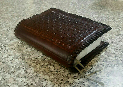 Genuine Leather Hand Made Bible Cover for New World Translation