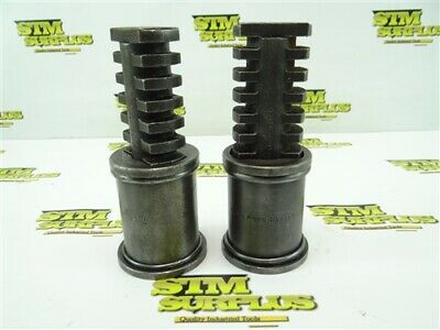 """Pair Of Armstrong Machinists Jack Stands 6"""" To 8-1/4"""" Model 79-954"""