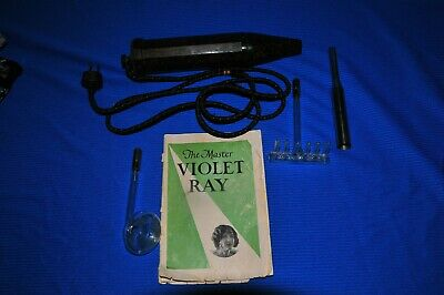 Violet Ray High Frequency Electric Quack Medical Device With Accessories