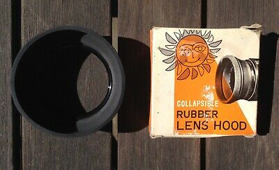 Photape 55 mm collapsible rubber lens hood, made in Japan @ 3765