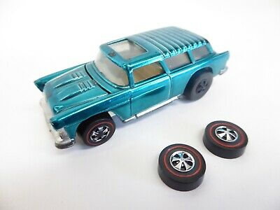 1969 Hot Wheels Redline Classic Nomad - Aqua - Read Description