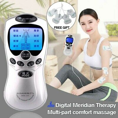 Electrical Stimulation Massage Tens Unit Machine Muscle Therapy Pain  FM Relief